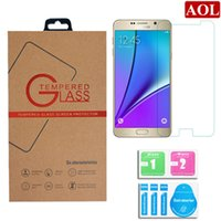 Wholesale Tempered Glass Screen Protector D For iPhone s SE s s plus Samsung galaxy S7 S6 S5 note Glass Film