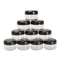 Wholesale 10Pcs g ml Empty Cosmetic Jar Pots Makeup Tool Face Skin Cream Container