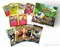 Wholesale Poke Trading Cards Games Styles XY Anime Pocket Monsters Cards Toys Children Card Toys