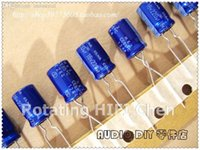 Wholesale For Elna Capacitors v220uf x12mm re2 Promotion Kit For Audio Aluminum Electrolytic Capacitor New Sale Robe