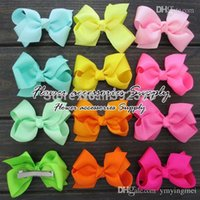 animal pin alligator - colors quot Boutique Baby HairBows With Alligator Hair Clip Hair Pins Grosgrain Ribbon Hair Bows