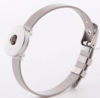 Wholesale Z85 Stainless steel bracelet DIY Jewelry Accessories Hot explosion models snap jewelry