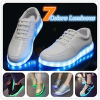 2016 LED Melbourne Shuffle Dance Rio Chaussures lumineuses olympiques Unisex Light Lace Up Sports Sneaker Skateboard Casual Skateboarding Ghost dancing