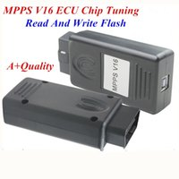 Wholesale New Arrival Professional ECU Chip Tuning MPPS V16 For EDC15 EDC16 EDC17 Inkl CHECKSUM CAN Flasher Remapper