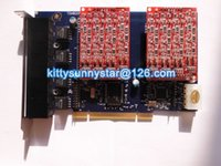Wholesale TDM800P with FXO Ports PCI Asterisk Card For Elastix FreePbx