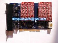 Wholesale TDM800P with FXO Ports PCI Asterisk Card For Elastix FreePbx