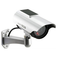 Wholesale Solar Power Imitation High Simulation Home CCTV Security Dummy Camera Fake Bullet Waterproof Outdoor Surveillance Cameras de seguridad