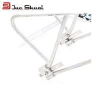 alloy bike trailer - 24 Inch Inch Adjustable Aluminum Alloy MTB Mountain Road Cycling Bike Luggage Bicycle Carrier Rear Rack