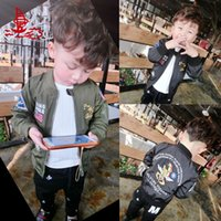 baby bomber jackets - Freelee thin kids jacket baby clothes Ma boy children s clothing ma1 flight jackets bomber outerwear youth boys jackets