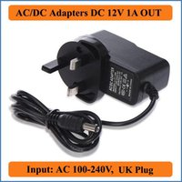 ac power plug audio - 12V A UK Plug AC DC Adapter AC100V V Converter Adapter to DC12V Power Supply mm x mm mA for LED strip Audio Video