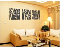 bamboo growth - 45 cm pieces Wall decor Decals Home stickers Art Decoration PVC Vinyl ZZ207 Bamboo square