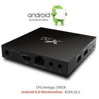 andriod media player - 4K Andriod TV BOX X96 Android6 Amlogic S905X Quad Core Media Player kodi16 Mini PC Wifi G G Smart TV Box