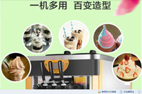 Wholesale The new W R22 commercial ice cream machine commercial ice cream cone machine automatic desktop machine big yield