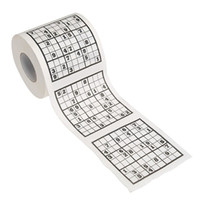 Wholesale Aicen Sudoku Puzzle Game Novelty Toilet Paper Funny Gag Gift Practical Joke funny gift toy Sudoku Game Funny Toilet Paper