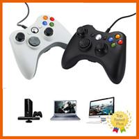 2016 Nueva Xbox 360 Negro Blanco Un Controlador de juego remoto para PC portátil ordenador Xbox Juegos de la venta caliente
