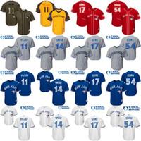 baseball jerseys youth - Youth Toronto Blue Jays Kevin Pillar Justin Smoak Ryan Goins Roberto Osuna kids Baseball Jersey cool base stitched S XL