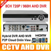 analog vga - New Products CH AHD DVR HD CCTV P or H Analog Camera Network Channel NVR Multilanguage Support P2P HDMI VGA Output