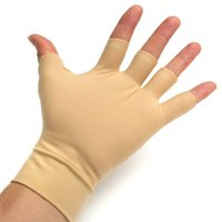 Wholesale gloves riding Hight Quality Pair Arthritis Relief Fitness Gloves Washable Nylon Spandex Anti Inflammatory Hand Compression