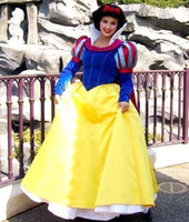 beautiful mascot costumes - Noble and Beautiful Hand made Snow white Mascot Costume Cartoon Character Fancy Party Dress Adult Size