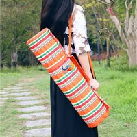 beach mat pillow - New Arrival Striped Moistureproof Mat Beach Garden Picnic Blanket Sleeping Mat with Pillow Travel Camping Mat