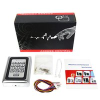 Wholesale Metal Case Shell Standalone Keypad WG26 Access Control For KHZ Card Silver F1211D