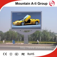 Wholesale Mountain A Li P6 Outdoor Full Color LED Disaply Screen for advertising with RGB in DIP Module