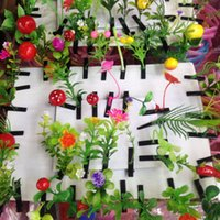 Wholesale Funny sell Meng artifact plant small sprouts flower head grass grass sprouting hair accessories hairpin hair clip