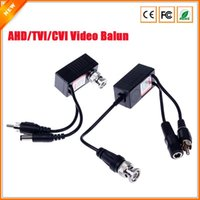 Wholesale CCTV RJ45 UTP Video Balun Transceiver BNC For AHD CVI TVI Camera With Audio Video Input Output
