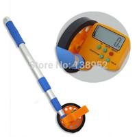 Wholesale m digital Distance Measuring Wheel Surveyor Walking Tape pocket digital distance wheel