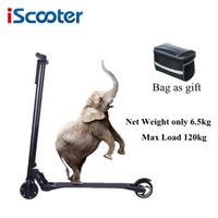 Wholesale iScooter akku electric carbon fiber scooter Kick skateboard Hoverboard steering wheel Self Balancing Scooter ah LG Battery optional