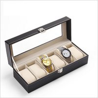 Wholesale DHL Luxury Set Watch Packing Box High Quality Leather Watch Boxes Watch Display Box Jewelry Box With Inner Factory Prices Promotion