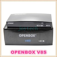 Wholesale Openbox v8s digital satellite receiver support WEB TV biss key x USB G WIFI Youtube Youporn CCCAMD NEWCAMD