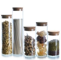 glass canister set - Five sets of five dimensions Storage Canister moisture sealed cans glass tea pot noodles dried fruit snacks milk cans Canister