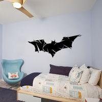 art dark knight - Batman Evolution Bats Wall Vinyl Decals Dark Knight Sticker Comics Art DIY Decor