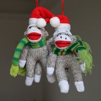 Wholesale Big mouth monkey Monkey plush toy Cute Christmas gift plush toy Cute Christmas decoration toy