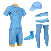 astana cycling team - 2016 New Team ASTANA Cycling Jerseys Breathable Short sleeved Suit Bike Clothing Mountain Biking Necessary Equipment Cycling Clothes Sets