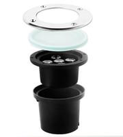 Wholesale Hot sale x3W ww pw cw LED Outdoor In under ground Garden FLOOD Light Spot Lamp Ip68 waterproof