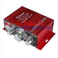 Wholesale 20 pieces Kinter MA Amplifier Red Channel MINI Digital Power Amplifier Car DVD