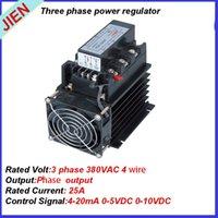 Wholesale Powerful mA VDC VDC three phase power regulator SCR3 LA