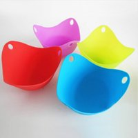 Wholesale Custom Silicone Egg Poacher Cups BPA Free Poaching Pods for Cooking Perfect Poached Eggs Microwave or Stovetop Egg Cooker
