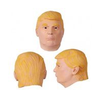 Wholesale Trump Masquerade Masks Famous Celebrity Male Full Face Party Masks Masquerade Masks with Silicone for Masquerade Ball