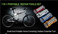 Wholesale Portable in Multi function Moutain Road Bicycle Bike Repair Tool Set Kits Hex Key Wrenches