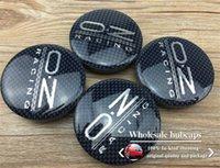 Wholesale Car tuning mm OZ emblem VW wheel center hub cap cover for Volks wagen skoda car badges emblems