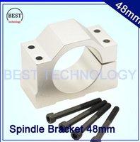 Wholesale cnc machine tool spindle Diameter mm Aluminium spindle ClampIing bracket of cnc spindle motor spindle mount bracket clamp