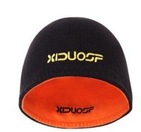Prezzi Wool hat-Uomini Donne cappello di lana Beanie formazione reversibile termiche invernali esecuzione cappuccio in pile Merino super fine 100% maglia Sport caldo accogliente