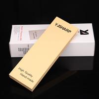 best barber scissors - China new design popular whetstone for best barber scissors Grit with yellow corundum size