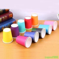 Wholesale 500pcs Polka Dot Paper Cups Cafe Disposable Cup Wedding Birthday Party Decoration Party Supplies Party Tableware