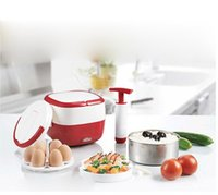 Wholesale SAVTM electro vacuum electric heating lunch boxes lunch boxes multifunctional electric electric meal Bao