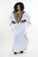 african violets - New African Fashion Dashiki Kaftan Dress Robe Abaya Diamant Wax Addis Abeba Violet Loose Dress