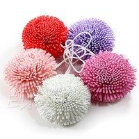 Wholesale Soft Sponge Puff Ball for Bath Shower Clean Body Skin Exfoliation